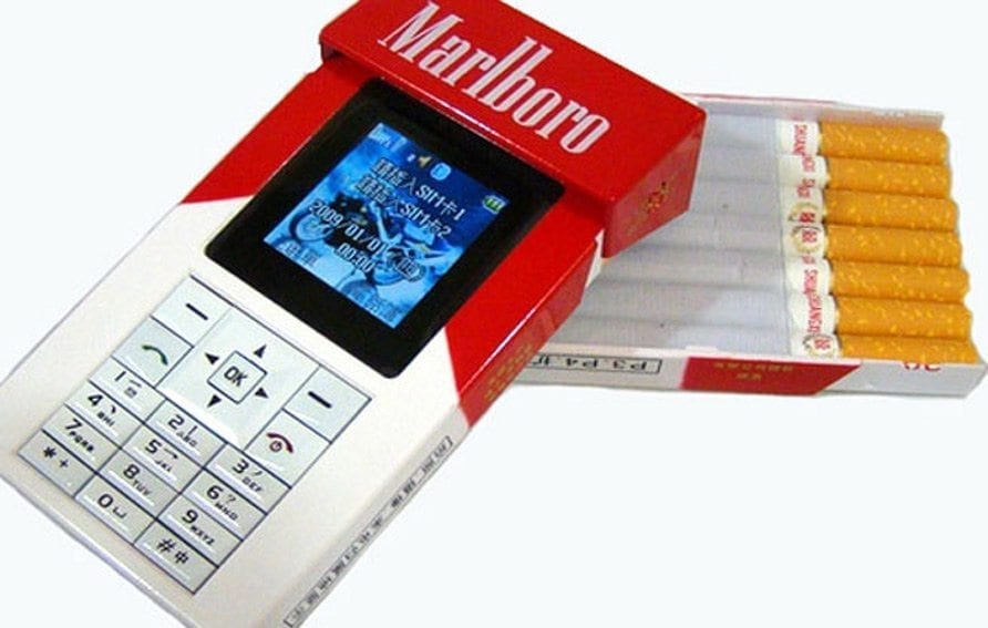 Cell Phone Cigarettes