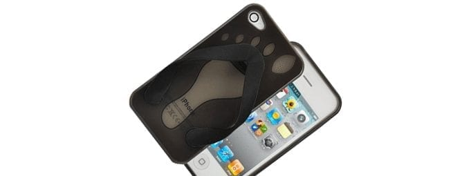 Cell Phone Flip Flop