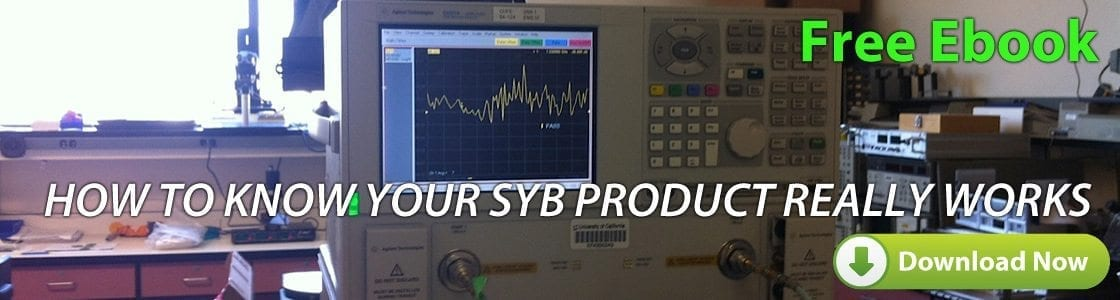How to Test the EMF Shielding Effectiveness of SYB Products