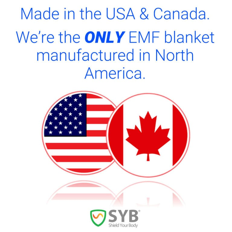 SYB Baby Blanket to Shield Against EMF Radiation