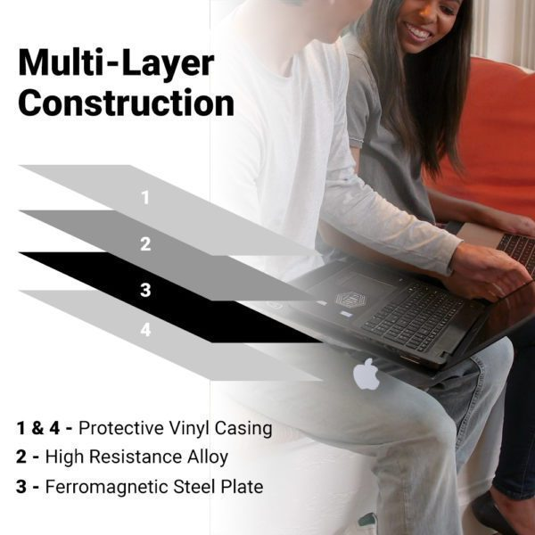 SYB Laptop Pad, EMF Radiation & Heat Shield in Multiple Sizes & Colors