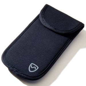 Large and Small SYB Phone Pouch to Shield Cell Phone EMF Radiation, Closed