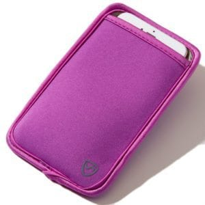 Extra Large Purple SYB Phone Pouch to Shield Cell Phone EMF Radiation