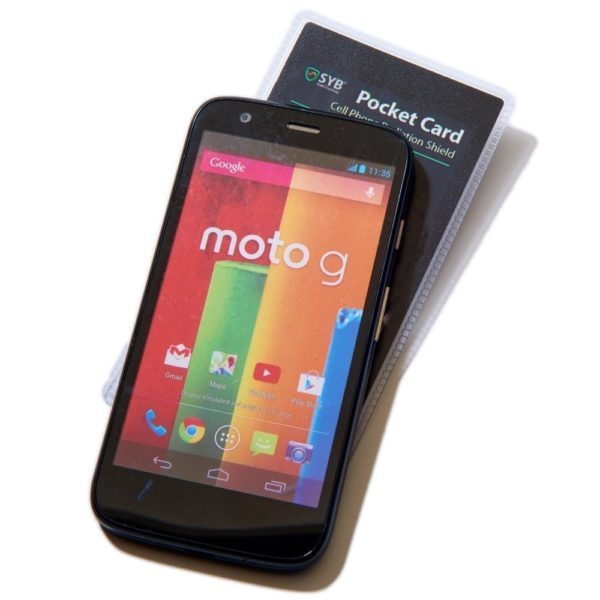 SYB Pocket Card to Shield Cell Phone EMF Radiation