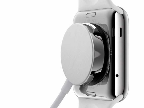 Apple Watch wireless charging station