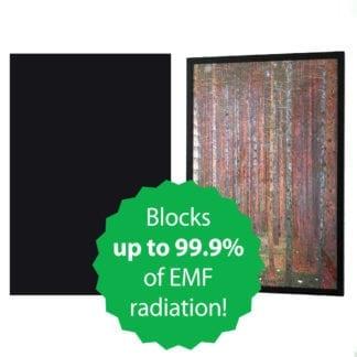 Poster Frame Liner to Shield Wireless EMF Radiation
