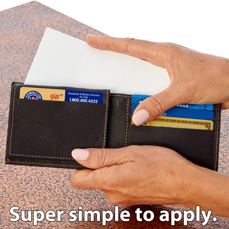 SYB RFID Blocking Wallet Liner