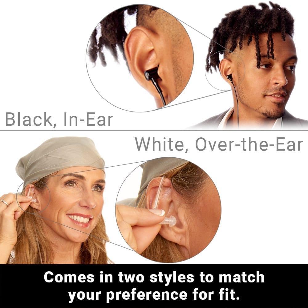 SYB Air Tube Stereo Headset White, Over-the-Ear