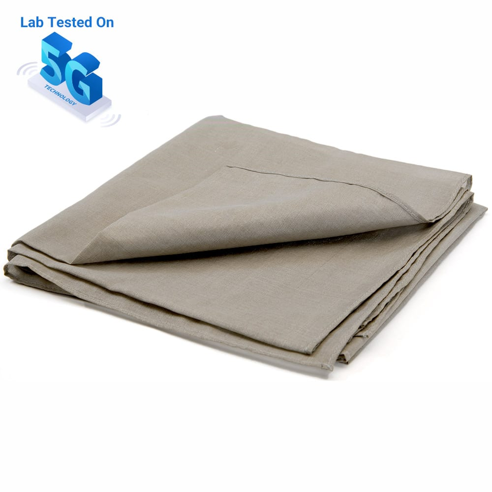 SYB Silver Silk Bandana, EMF Protection