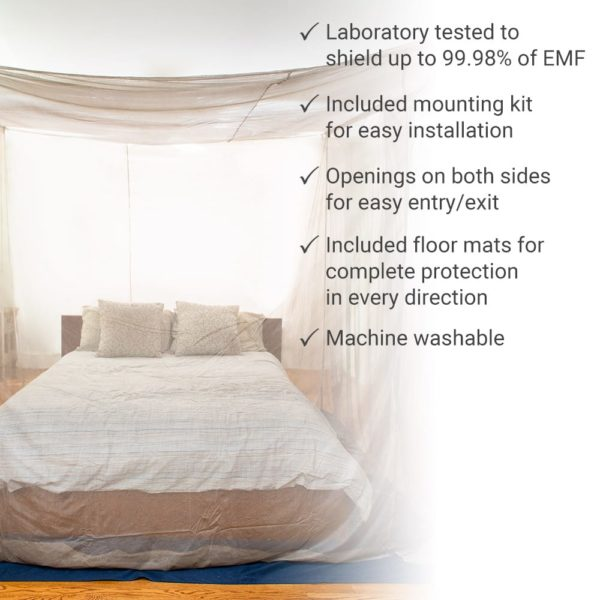 SYB EMF & 5G Bed Canopy