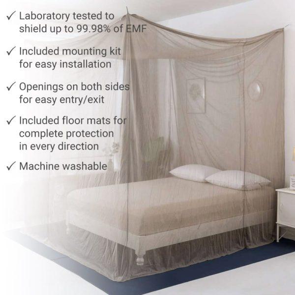 SYB EMF & 5G Bed Canopy
