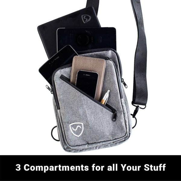 SYB Sling Bag, EMF & 5G Protection Carrying Case