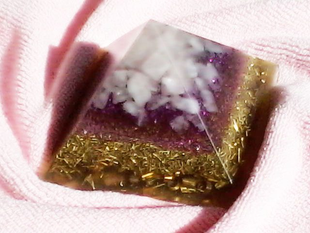 shungite and orgonite as EMF protection: an example of an orgonite device