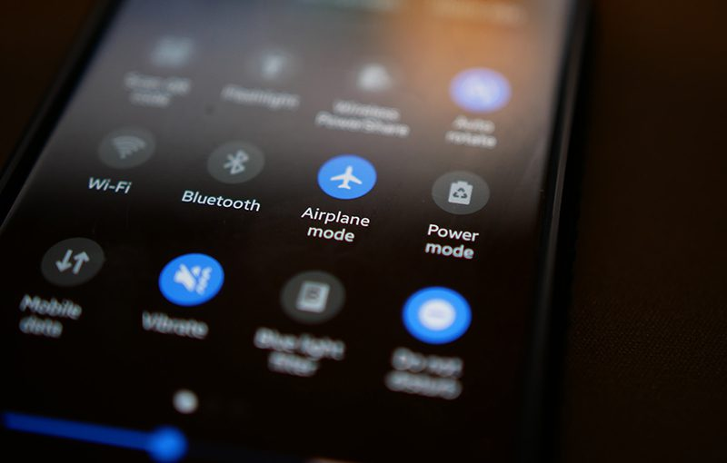 Keep your phone in airplane mode while driving.