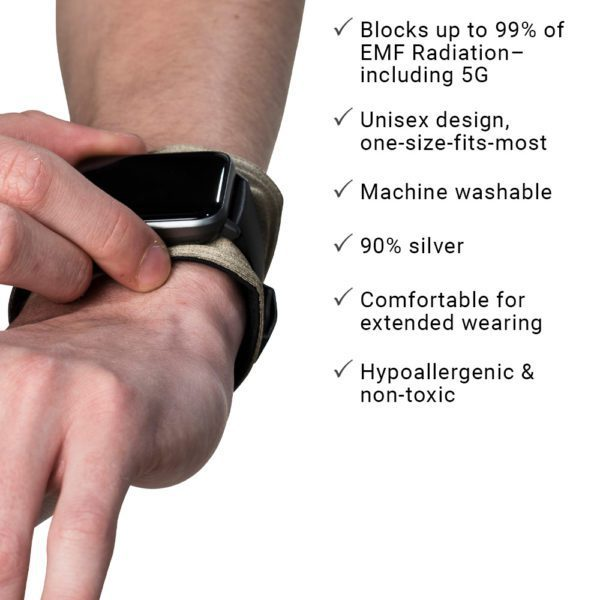 The SYB Wrist Band, Smart Watch EMF & 5G Protection