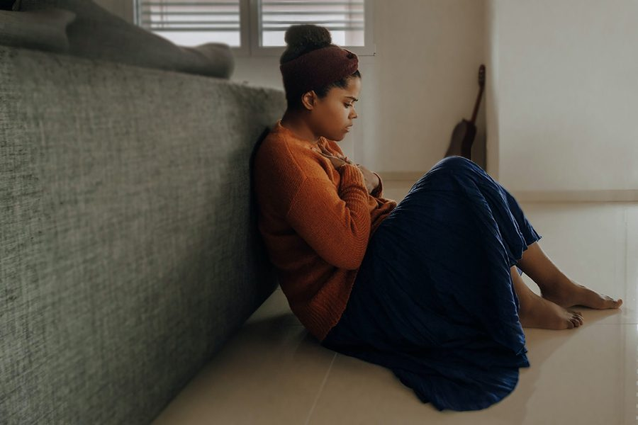 Panic disorder is more common in women and young adults